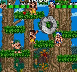 Caveman Ninja (1991)