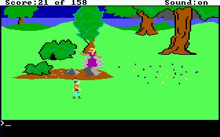 Kings Quest 1: Quest for the Crown (1984)